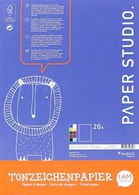 Tonzeichenpapierblock, A4 667031800000 Bild Nr. 1