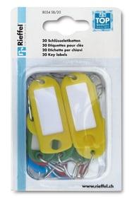 Eletiketten assortiert, 10 Stk. Schlüsselanhänger Rieffel 605604700000 Bild Nr. 1