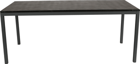 LOCARNO, 160 cm, struttura antracite, piano Granito Tavolo 753192416020 Taglio L: 160.0 cm x L: 80.0 cm x A: 74.0 cm Colore Nero N. figura 1