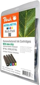 Multipack HP Nr. 971XL BKCMY Cartouche d'encre Peach 785300154238 Photo no. 1