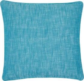 TIAGO Coussin décoratif 450683940844 Couleur Turquoise Dimensions L: 45.0 cm x H: 45.0 cm Photo no. 1