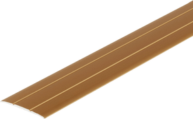 Übergangsprofil 37 x 2.5 mm sk messingfarben 1 m alfer 605114600000 Bild Nr. 1