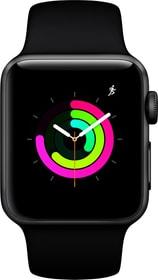 Watch Series3 GPS 38mm Space Grey Aluminium Case Black Sport Band Smartwatch Apple 785300139127 Photo no. 1