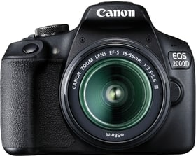 EOS 2000D EF-S 18-55mm DC Value Up inkl. SB-130 Bag Black + SD 16GB Spiegelreflexkamera Kit Canon 785300145000 Bild Nr. 1