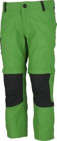 Pantalon de trekking pour enfant Trevolution 472361910463 Taille 104 Couleur vert foncé Photo no. 1