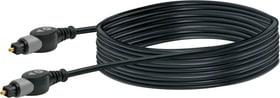 Lichtwellenleiterkabel 3m schwarz Schwaiger 613180400000 Bild Nr. 1