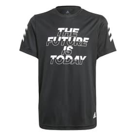XFG AEROREADY PRIMEBLUE TEE Fitnessshirt Adidas 466834512820 Grösse 128 Farbe schwarz Bild-Nr. 1