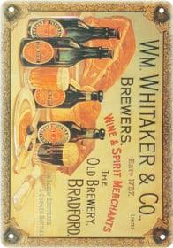 Werbe-Blechschild Whitaker & Co. 605055600000 Bild Nr. 1
