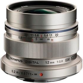 M.Zuiko 12mm F:2.0 argent Objectif Olympus 785300125763 Photo no. 1