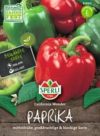 Paprika California Wonder Sementi di verdura Sperli 650152700000 N. figura 1
