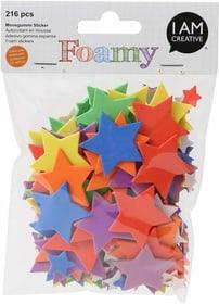 FOAMY, stella colorata, 216 pezzi 666778800000 N. figura 1