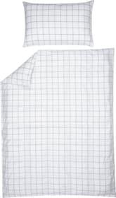 CRISTIANO Fourre de duvet en percale 451194012310 Couleur Blanc Dimensions L: 160.0 cm x H: 210.0 cm Photo no. 1