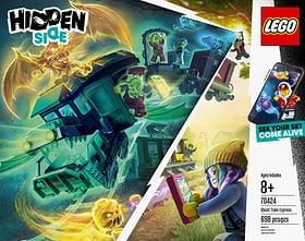 HIDDEN 70424 Le train-fantôme LEGO® 74872050000018 Photo n°. 1