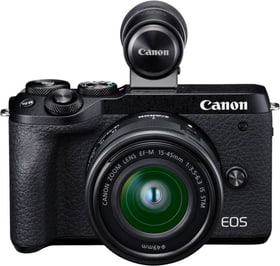 EOS M6 Mark II + 15-45mm + EVF-DC2 appareil photo rhybrid set Canon 785300146725 Photo no. 1