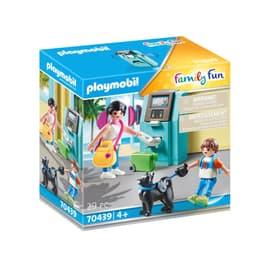 70439 Family Fun Vacanciers et distributeur automatique PLAYMOBIL® 748037600000 Photo no. 1