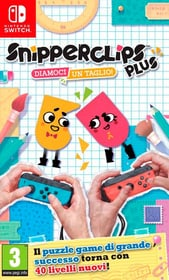 NSW - Snipperclips Plus - Diamoci un taglio! I