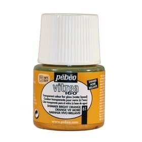 Vitrea 160 Moire 45ml Pebeo 663735500000 Colore Arancione N. figura 1