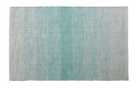 FLORIA Tapis de bain 453024751244 Couleur Turquoise Dimensions L: 60.0 cm x H: 90.0 cm Photo no. 1