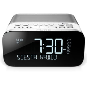 Siesta S6 - Blanc Radio réveil Pure 773412600000 Photo no. 1