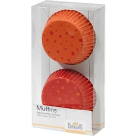 Papierbackform Muffin DOTS