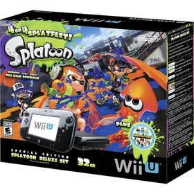 Wii U Konsole 32GB inkl. Splatoon Nintendo 78542840000015 Bild Nr. 1