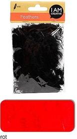 Dekofedern I AM CREATIVE 665525400050 Farbe Rot Bild Nr. 1