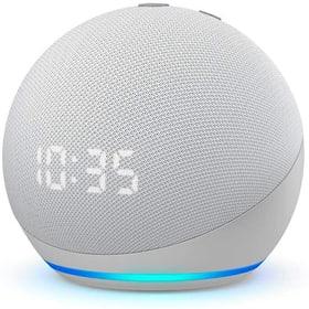 Echo Dot 4. Gen. mit Uhr - Weiss Smart Speaker Amazon 785300158774 Bild Nr. 1
