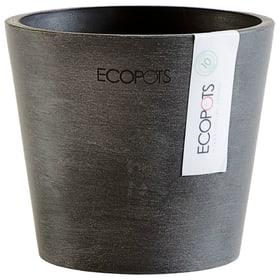 Ecopot Amsterdam Mini Vaso 657772700017 Colore Grigio scuro Taglio ø: 15.0 cm x A: 17.0 cm N. figura 1