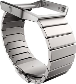Blaze Bracciale di cuoio Argento Fitbit 798120400000 N. figura 1