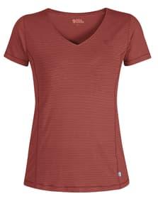 Abisko Cool Damen-Kurzarmshirt Fjällräven 461015600630 Grösse XL Farbe rot Bild-Nr. 1