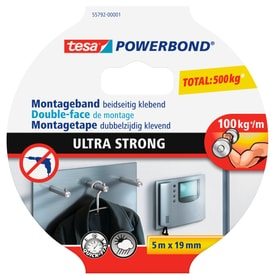 Powerbond® ULTRA STRONG 5mx19mm Klebebänder Tesa 663077500000 Bild Nr. 1