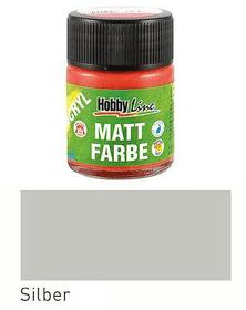 C.KREUL Acryl Mattfarbe Silber 50ml C.Kreul 665526700150 Farbe Silberfarben Bild Nr. 1