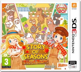 3DS - Story of Seasons: Trio of Towns D Box 785300156819 N. figura 1
