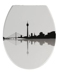 Düsseldorf WC-Sitz WENKO 674043900000 Bild Nr. 1