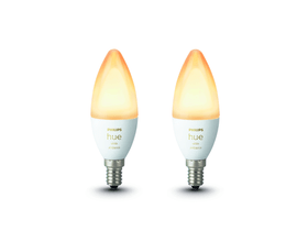 HUE white Ambiance 2 x Extension E14 2x LED E14 9.5W Philips hue 421089500000 Bild Nr. 1