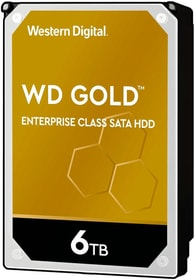 "Harddisk Gold 6 TB 3.5"" HDD Intern Western Digital 785300150223 Bild Nr. 1"