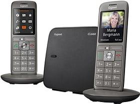 CL660 Duo gris Téléphone fixe Gigaset 785300133473 Photo no. 1