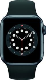 Watch Series 6 GPS 40mm Space Gray Aluminium Black Sport Band Smartwatch Apple 798764200000 Photo no. 1