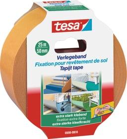 Ruban de pose pour moquettes adhésivité extra-forte Rubans adhésifs Tesa 663059700000 Couleur Blanc Taille L: 25.0 m x L: 50.0 mm Photo no. 1