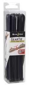 GearTie 12'' ProPack schwarz Kabelbinder Nite Ize 612129300000 Bild Nr. 1