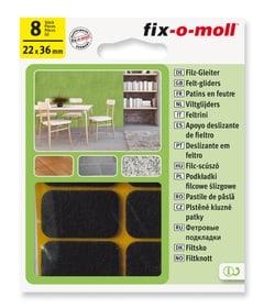 Filzgleiter 3 mm / 36 x 22 mm 8 x Fix-O-Moll 607069000000 Bild Nr. 1