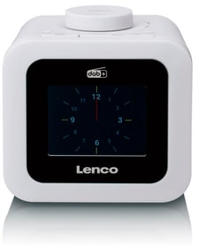 CR-620 - Weiss Radiowecker Lenco 785300151927 Bild Nr. 1