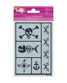 stampino tatuaggio party of the pirates 666789900000 N. figura 1