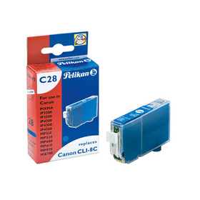CLI-8 Cyan Cartuccia d'inchiostro Pelikan 797565300000 N. figura 1