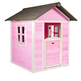 Maison d'enfant Lodge rose/blanc