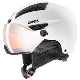 hlmt 600 visor Wintersport Helm Uvex 494973554910 Farbe weiss Grösse 55-57 Bild-Nr. 1