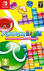 Switch - Puyo Puyo Tetris Box 785300122069 N. figura 1