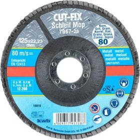 CUT-FIX® Straccio abrasivo, per metallo, ø 125 mm, K80 kwb 610521800000 N. figura 1
