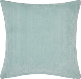 AMANDA Coussin décoratif 450733340544 Couleur Turquoise Dimensions L: 50.0 cm x H: 50.0 cm Photo no. 1