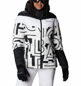 Abbott Peak Insulated Jacket Veste de ski pour femme Columbia 462550900310 Taille S Couleur blanc Photo no. 1